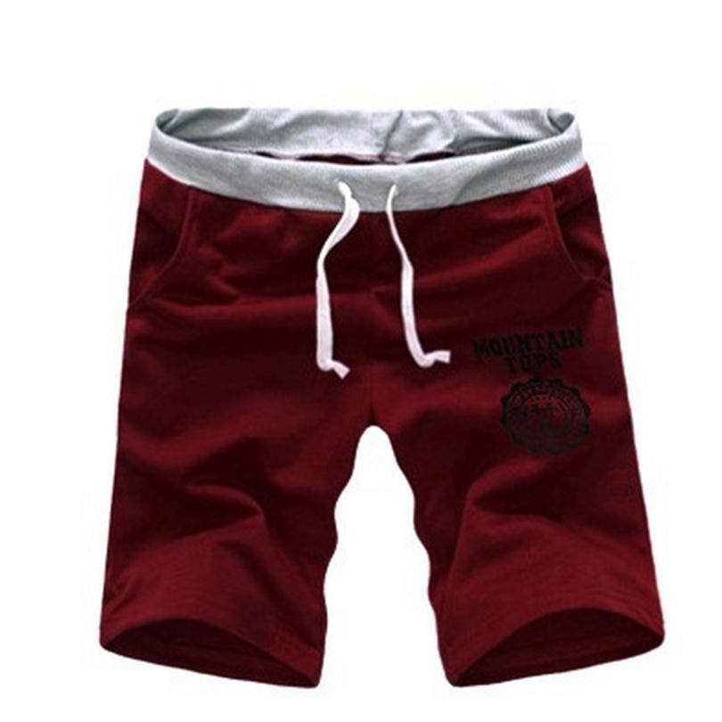 100% Cotton Elastic Waist Mens Shorts