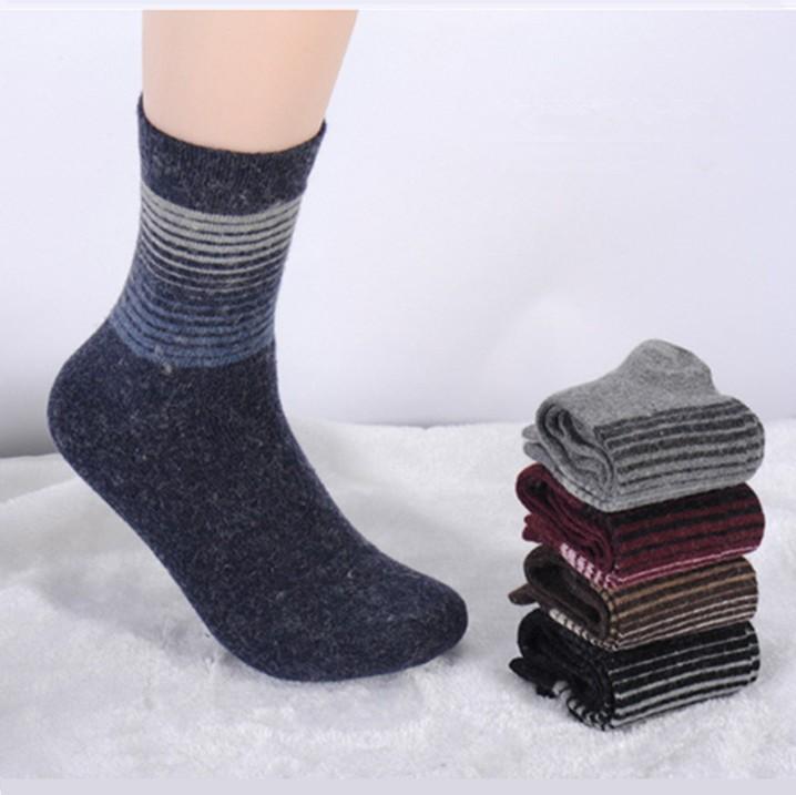 Fashionable Winter Mens Wool Socks