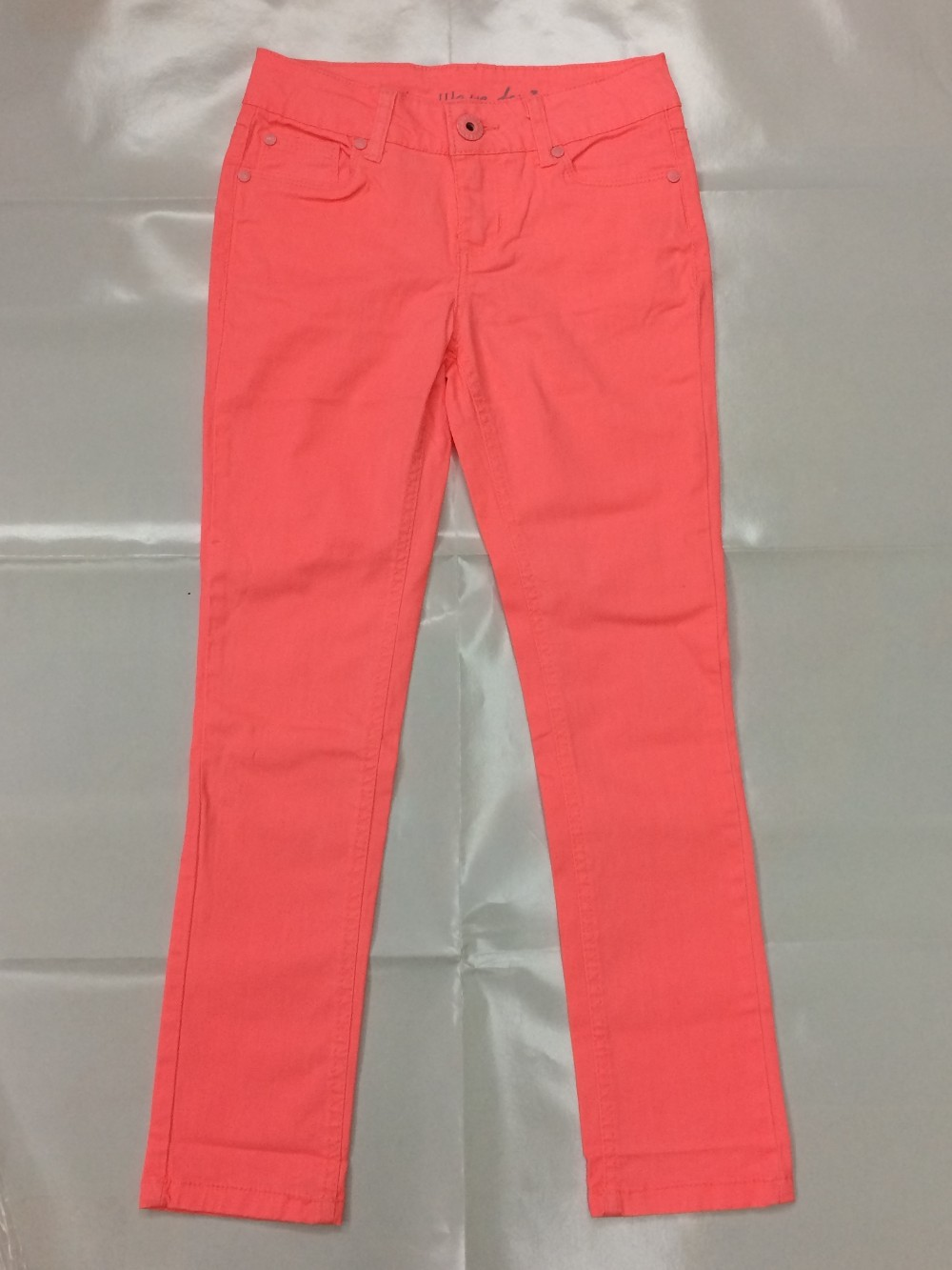 High Quality Cotton Skinny Girl Formal Trousers