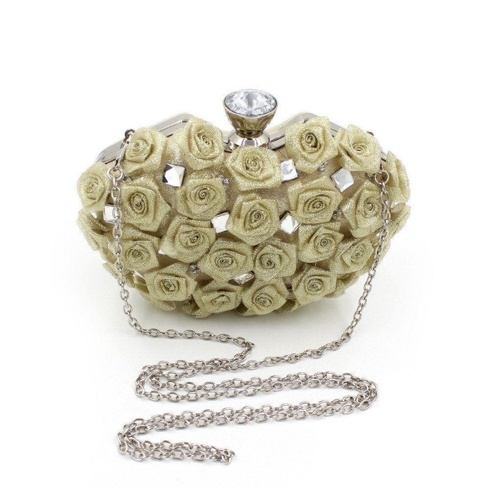 High Quality Diamond Flower Women HandBags