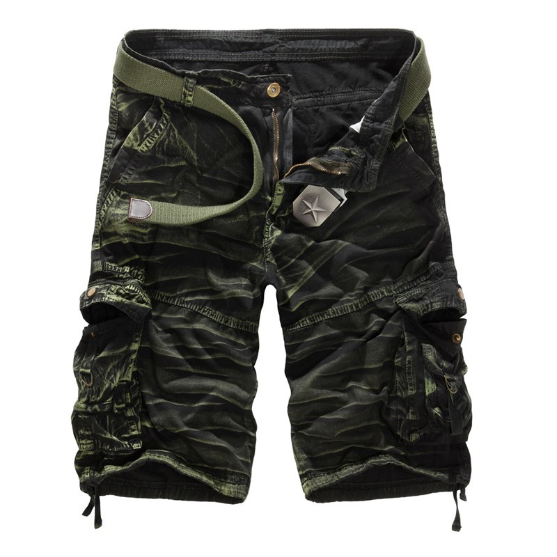 High Quality Multi Pocket Mens Casual Shorts