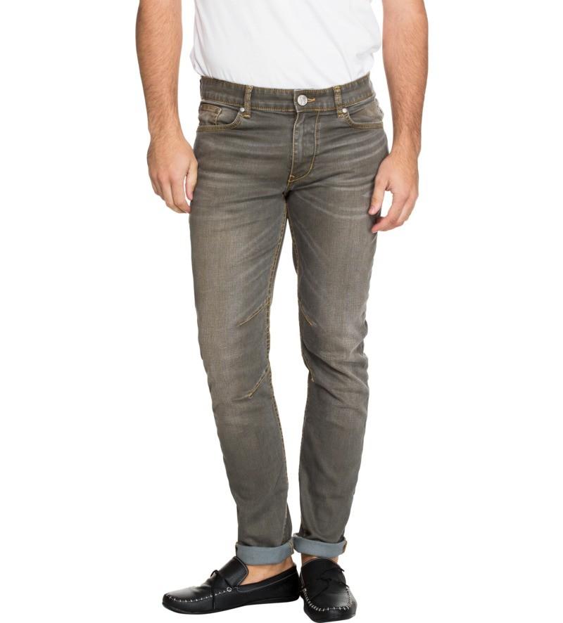 Knee Darting Skinny Fit Blue Color Denim Jeans