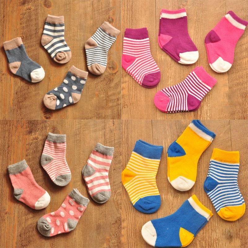Latest Baby Boy & Girls Cute Cotton Socks