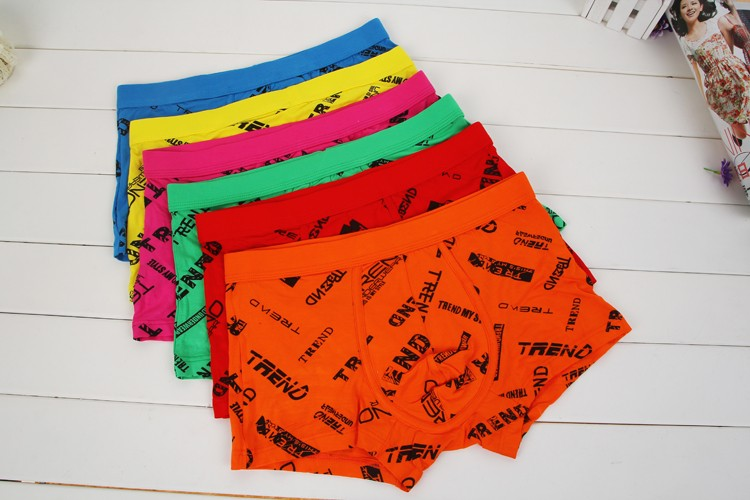 Latest Letter Design Breathable Boxers
