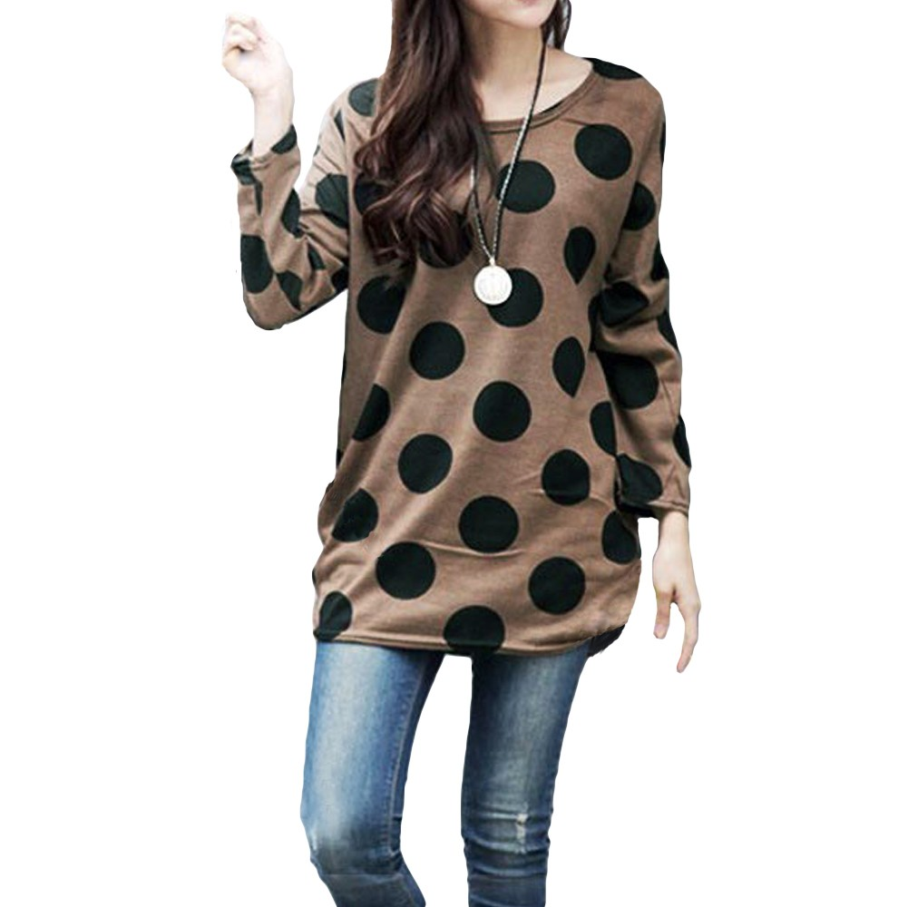 Latest Women Scoop Neck Long Pullovers