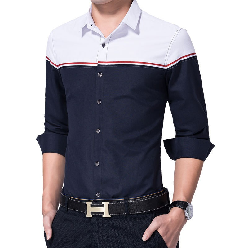 Men Slim Fit Pure Cotton Formal Shirts