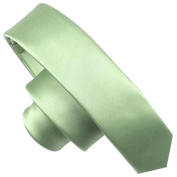 Mens Multicolored Slim Narrow Neckties