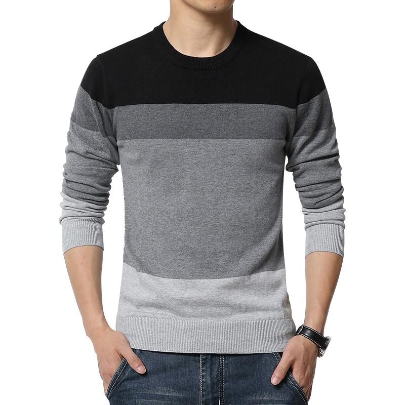 Mens New Autumn Fashion Slim Fit Sweaters