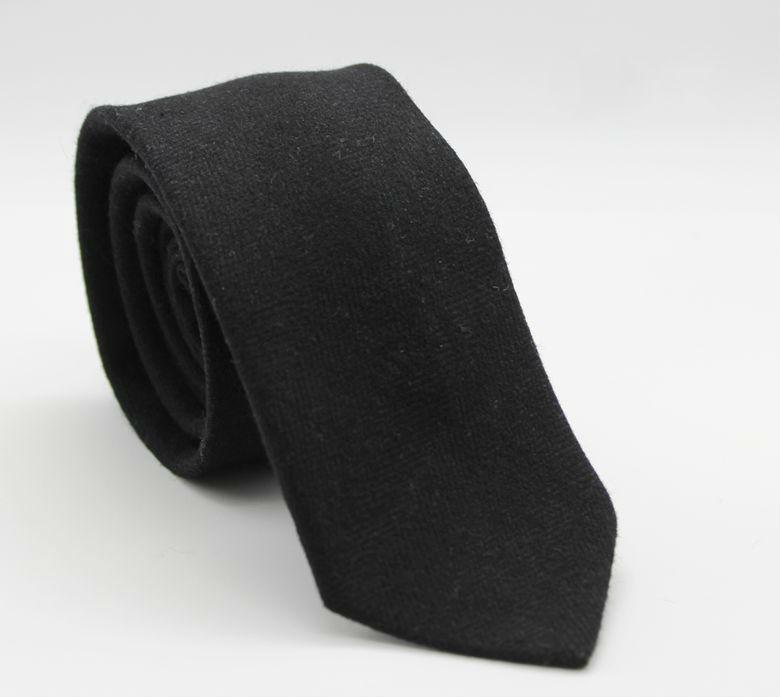 Mens New Fashion Slim Wool Ties