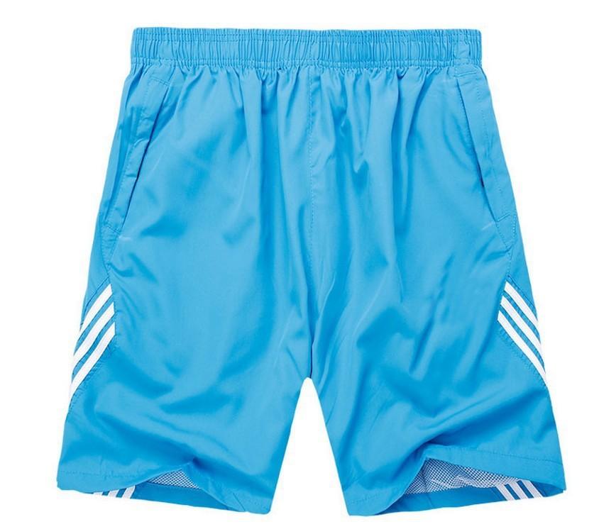 Mens Running Sports Striped Shorts
