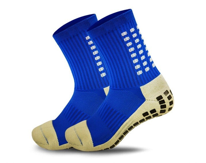 Mens Soccer Anti Slip  Mid-calf Cotton Socks