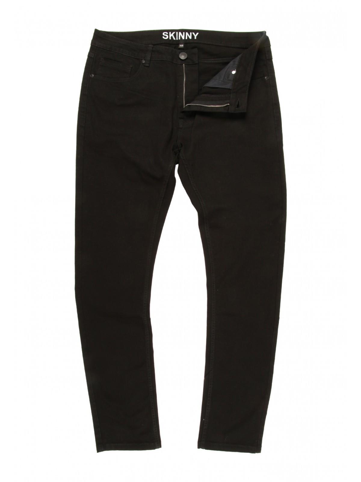 Modern Stretch Skinny Black Jeans