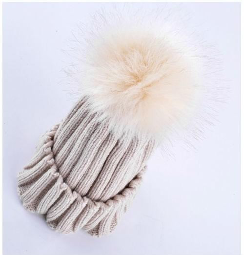 Multicolored Knitting Wool Women Winter Hats2