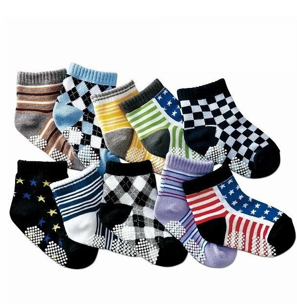 New Arrival Boys Printed Fashionable Socks