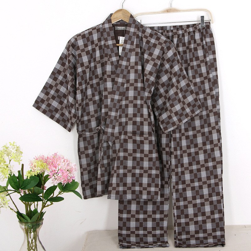 New Arrival Men Summer Cotton Pajama Sets
