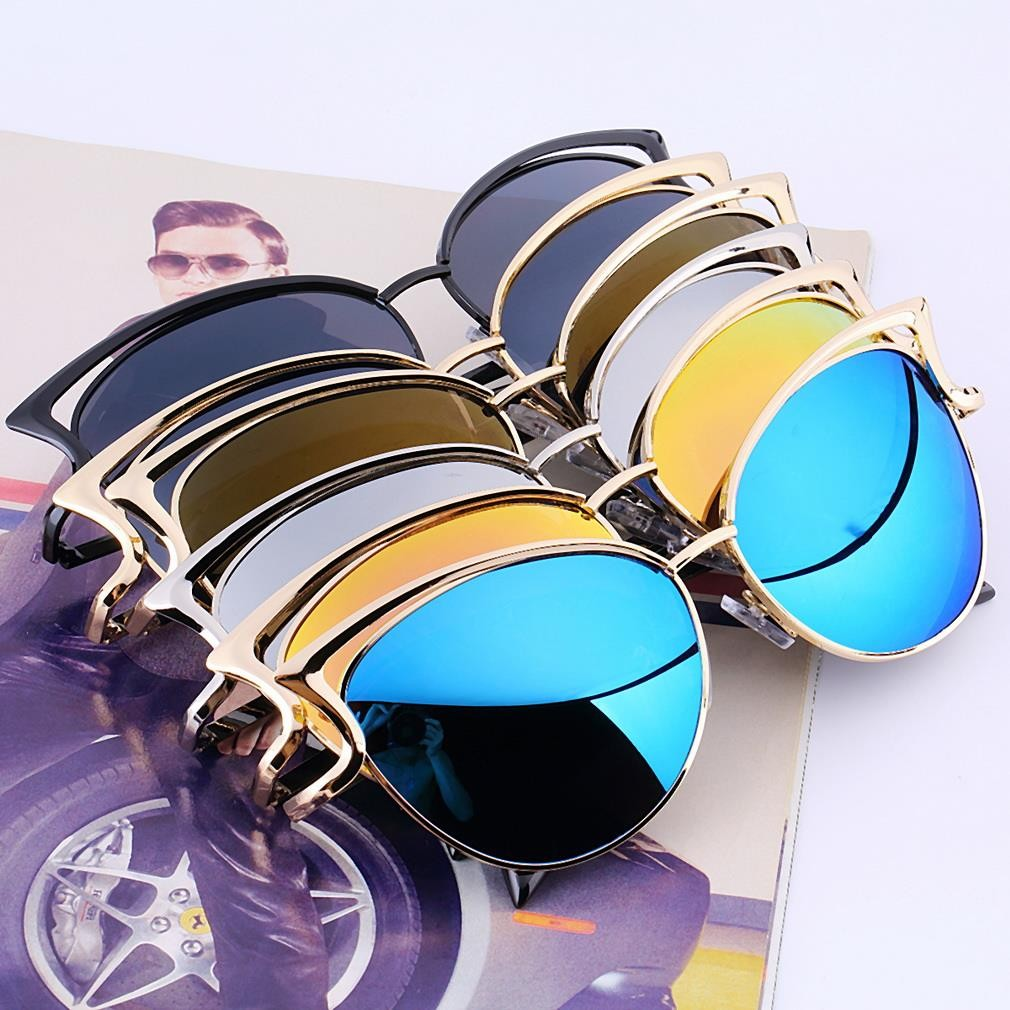 New Arrival Vintage Metal Frame Sunglasses