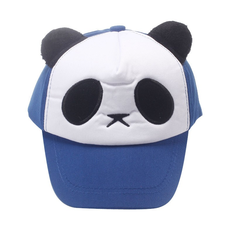 New Boy And Girl Panda Design Summer Caps