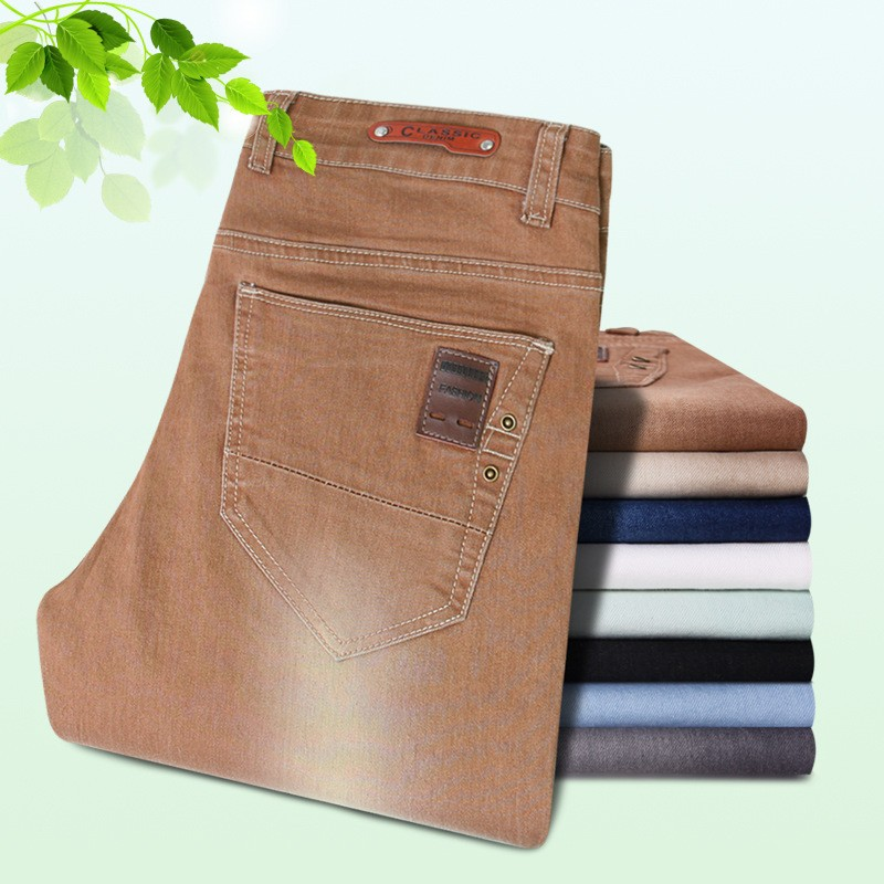 New Fashion Mens Stylish Straight Jeans