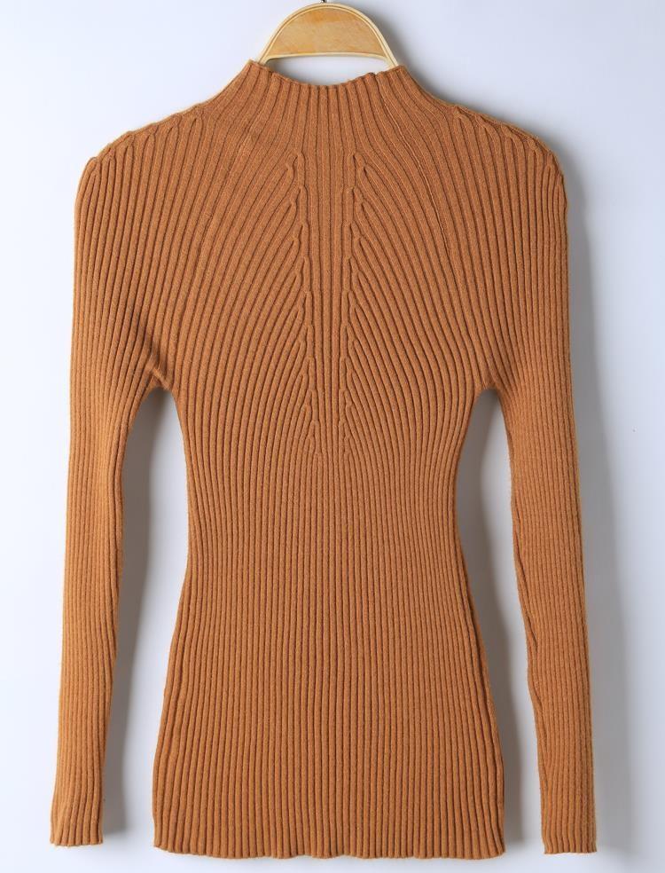 New Fashion Women Warm Tight Sweaters