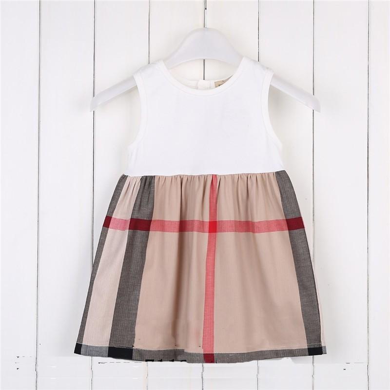 New Summer Fashion Designer Girl Dresses