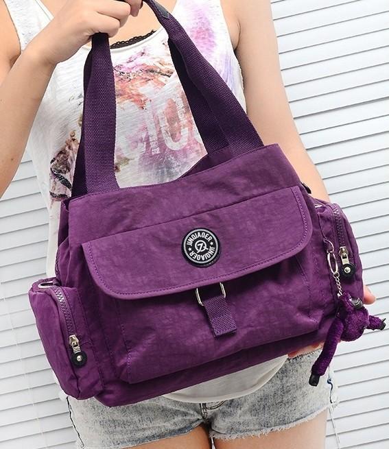 New Women Fashion Waterproof Nylon Handbags