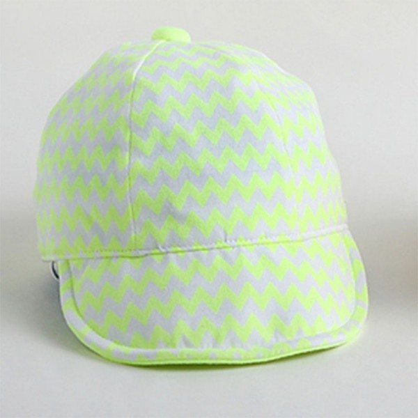 New Zigzag Pattern Summer Boy And Girl Caps