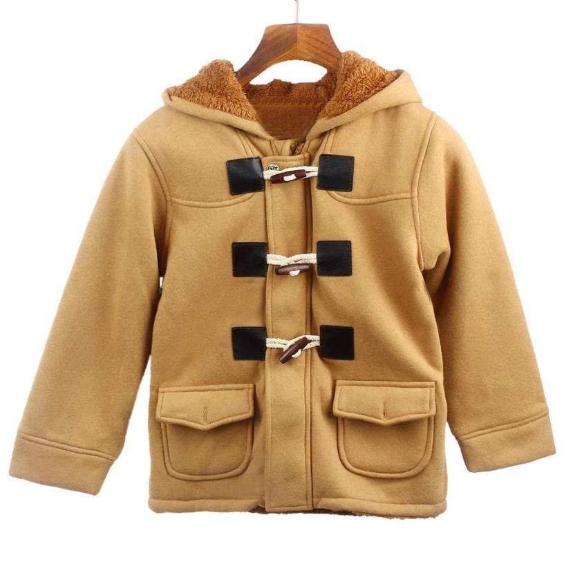 Newly Design Boy Winter Beige Jacket