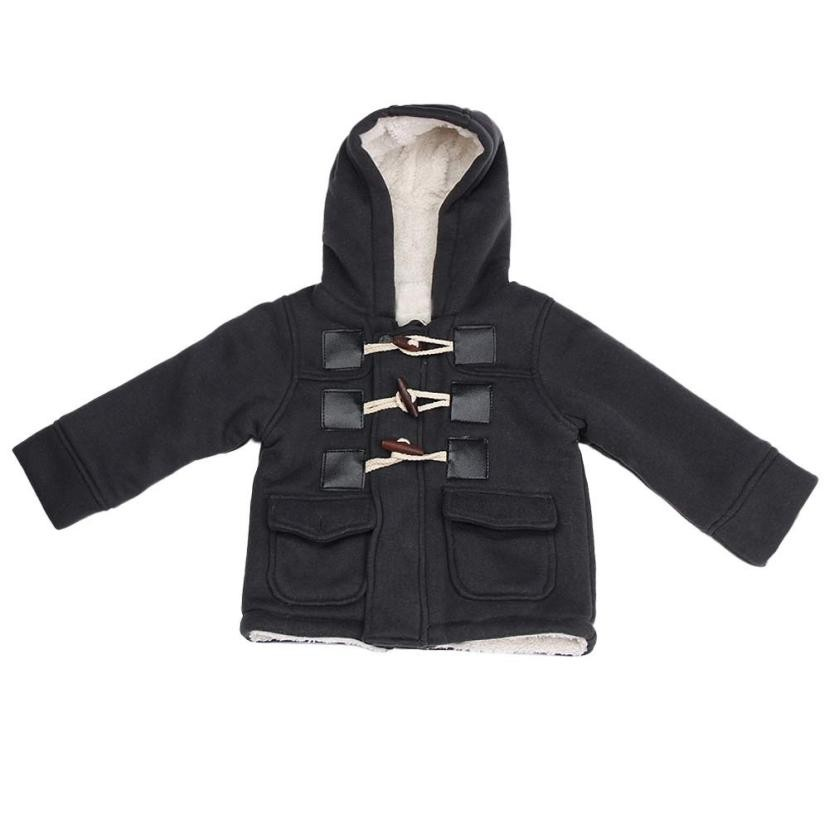 Newly Design Boy Winter Dark Grey Jacket
