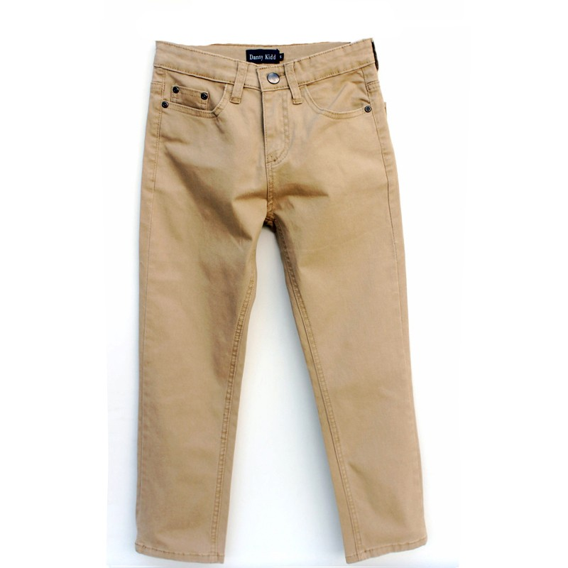 Regular Fit Pure Cotton Casual Boy Trousers