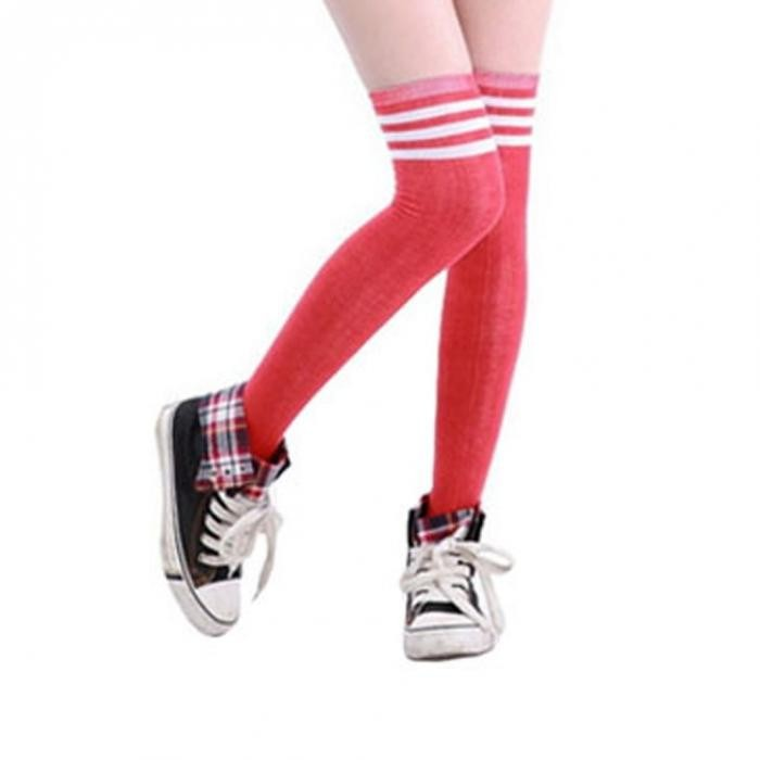 Stylish Sport Over Knee Ankle Socks