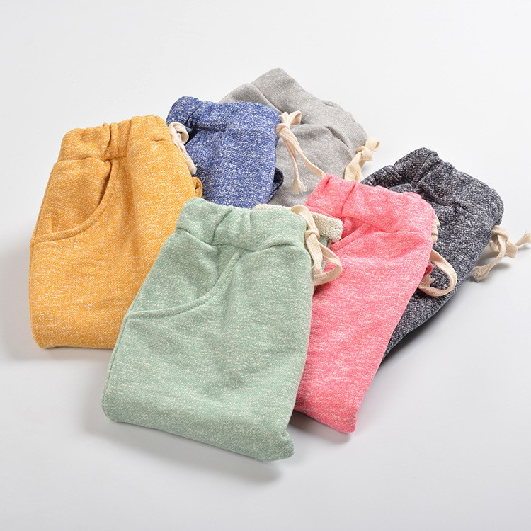 Super Quality New Cotton Girl Trousers