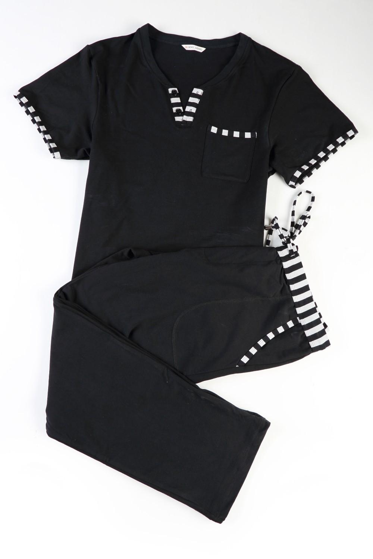 Tshirts And Long Pajamas Casual Nightwears