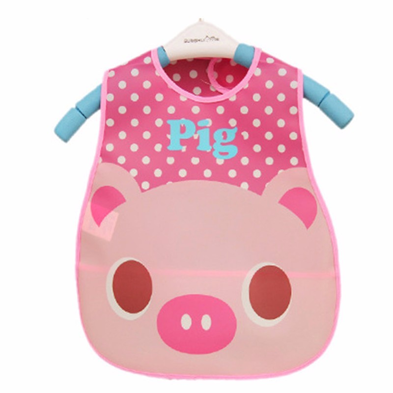 Waterproof Cartoon Design Infant Baby Bibs