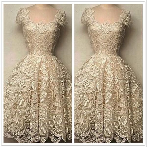 Women Charming Lace Mini Dresses