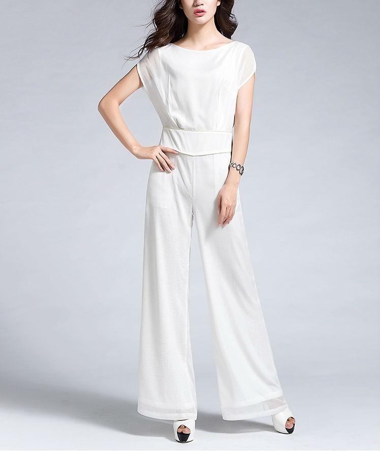 Women Designer Elegant Chiffon Jumpsuit