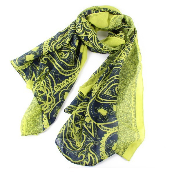 Women Fashion Pretty Long Soft Cotton Scarves