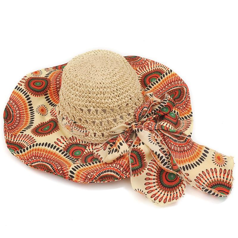 Womens New Style Anti-uv  Large Brim Hat