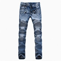 100% Cotton Casual Straight Jeans
