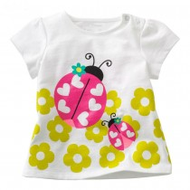 100% Cotton Designer Girl Fashion Tshirts