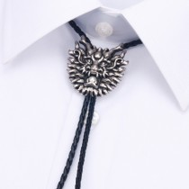 Alloy Dragon Face Shape Mens Tie