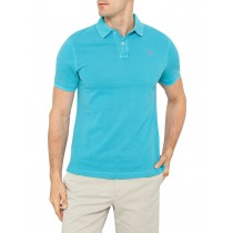 Aqua Slim Fit Cotton Unique Style Polo Tshirt