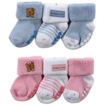 Baby Boy Warm Cotton Socks Set