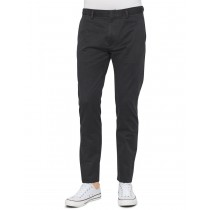 Black Colored Classic Cotton Casual Trouser
