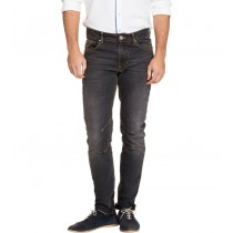Black Colored Skinny Fit Denim Jeans