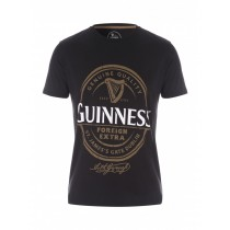 Black Stylish Graphic Printed Tshirt