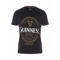 Black Stylish Graphic Printed Tshirt