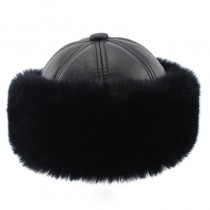 Black Warm Winter Classic Men Hat