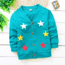 Blue Fashion Infant Kids Sweater Jacket