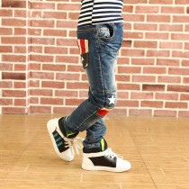 Blue High Quality Casual Boy Denim Jeans