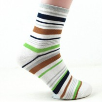 Boy And Girl Casual Striped Ankle Socks
